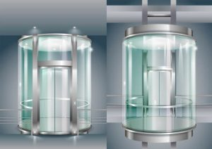آسانسور مسافربر شیشه ای