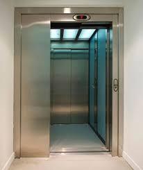 درب تلسکوپی آسانسور